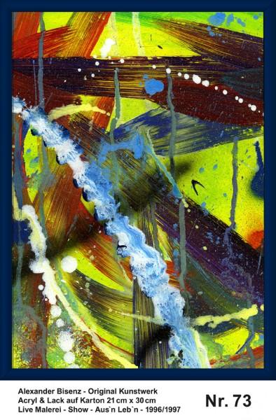 Bisenz Kunstwerk - Aus'n Leb'n - Nr. 73