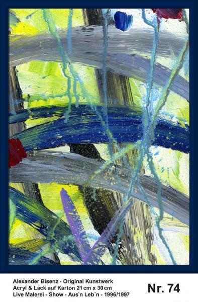 Bisenz Kunstwerk - Aus'n Leb'n - Nr. 74