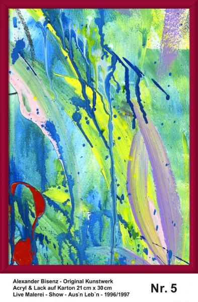Bisenz Kunstwerk - Aus'n Leb'n - Nr. 5