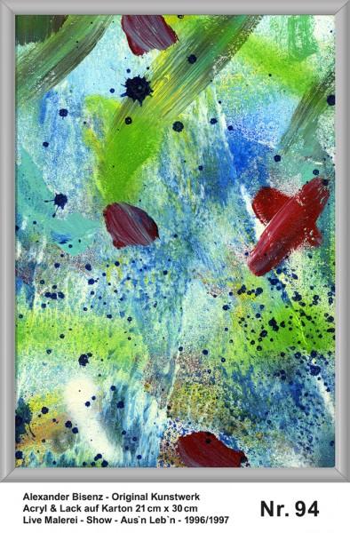 Bisenz Kunstwerk - Aus'n Leb'n - Nr. 94