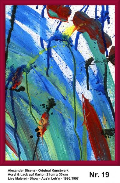 Alexander Bisenz - Original Kunstwerk