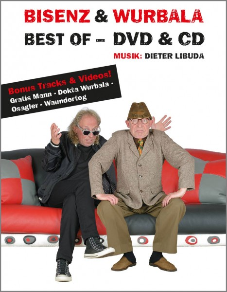 BISENZ & WURBALA BEST OF - DVD & CD