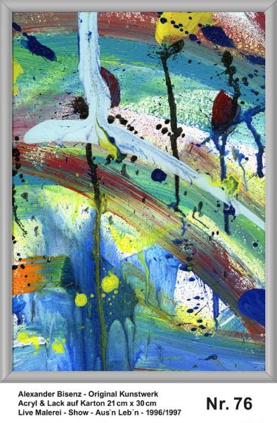 Bisenz Kunstwerk - Aus'n Leb'n - Nr. 76