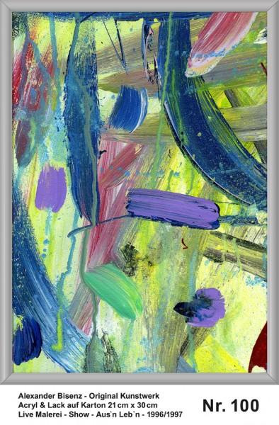 Bisenz Kunstwerk - Aus'n Leb'n - Nr. 100