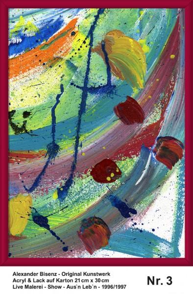 Bisenz Kunstwerk - Aus'n Leb'n - Nr. 3
