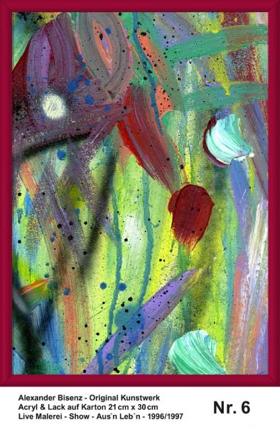 Bisenz Kunstwerk - Aus'n Leb'n - Nr. 6
