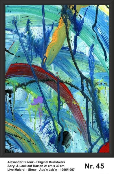 Bisenz Kunstwerk - Aus'n Leb'n - Nr. 45