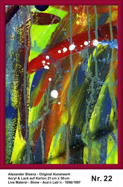 Bisenz Kunstwerk - Aus'n Leb'n - Nr. 22
