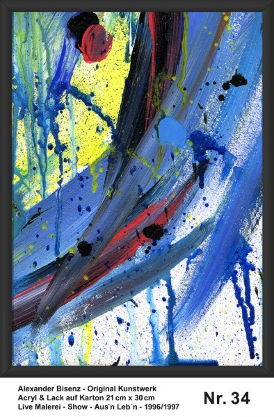 Bisenz Kunstwerk - Aus'n Leb'n - Nr. 34