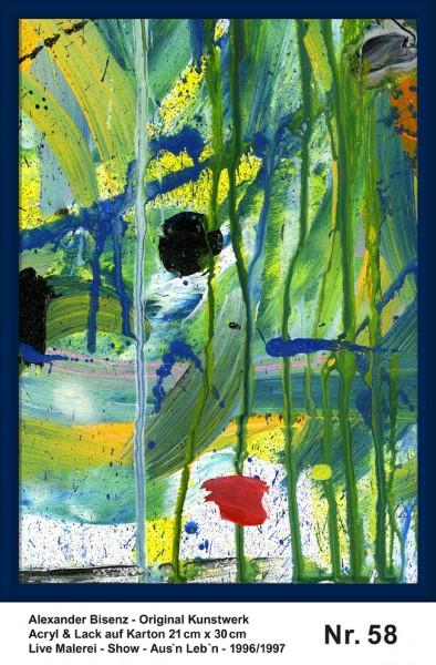 Bisenz Kunstwerk - Aus'n Leb'n - Nr. 58