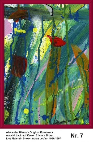 Bisenz Kunstwerk - Aus'n Leb'n - Nr. 7