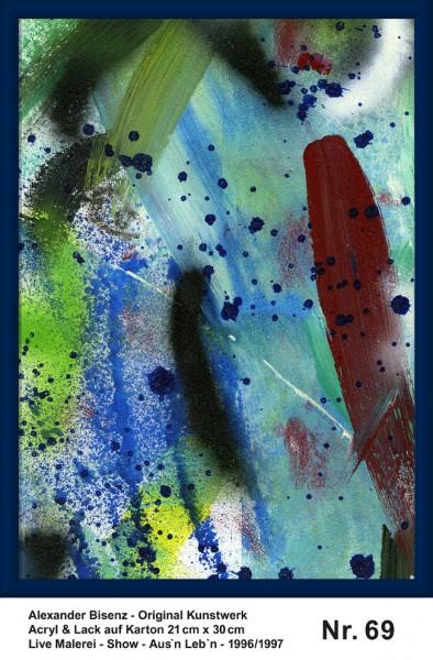 Bisenz Kunstwerk - Aus'n Leb'n - Nr. 69