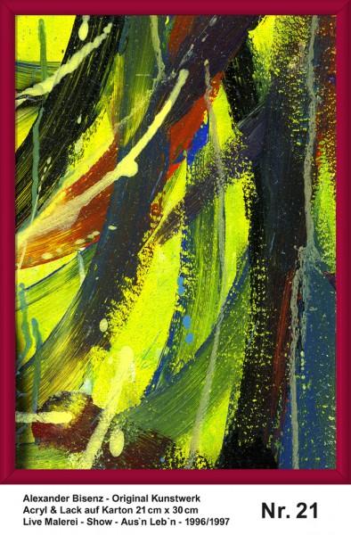 Bisenz Kunstwerk - Aus'n Leb'n - Nr. 21