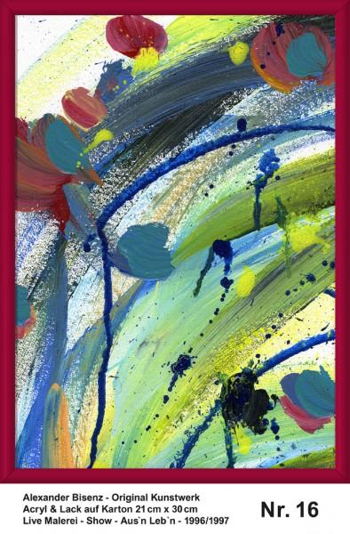 Bisenz Kunstwerk - Aus'n Leb'n - Nr. 16